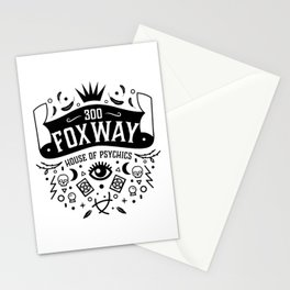 300 Fox Way Stationery Cards