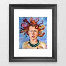 Alter-Ego Self Portrait #3 Framed Art Print