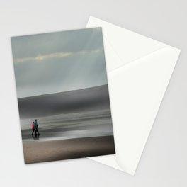 Misty walk Stationery Cards