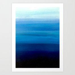 Blue 1 Art Print