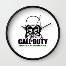 COD Modern Warfare Wall Clock