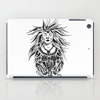 virgo iPad Cases featuring Virgo by Anna Shell