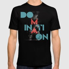 Domination LARGE Mens Fitted Tee Black