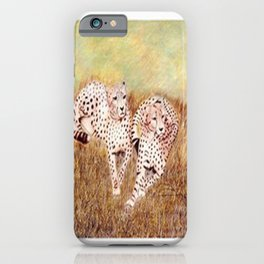 Resting Cheetahs iPhone Case