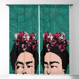 Floral Frida Blackout Curtain