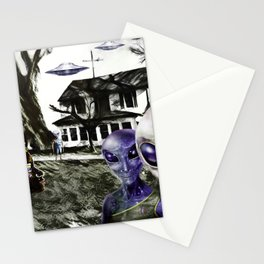 Friendly Invasion Stationery Cards