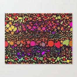 Confetti Celebration Canvas Print