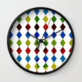 Losanges Wall Clock