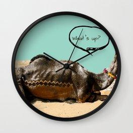 Pushkar fair chillout Wall Clock