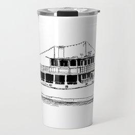 Old Ferry Boat Travel Mug