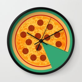 Brooklyn Pizza Wall Clock