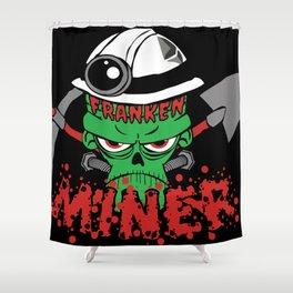 Frakenminer Shower Curtain