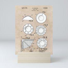 patent art Feinbloom Contact Lens 1938 Mini Art Print