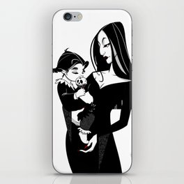Mother and Daughter iPhone Skin