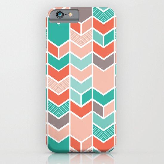 Multi Colored Chevron iPhone & iPod Case