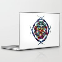 shield Laptop & iPad Skins featuring SHIELD by Paix Vivante