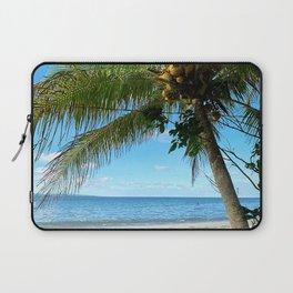 Far and Beyond. Beach Photography. Summer Laptop Sleeve