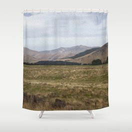 The Ranges Shower Curtain
