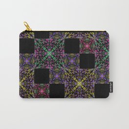 Ornate Boho Patchwork Carry-All Pouch