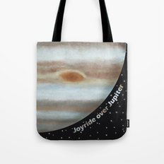 Joyride Over Jupiter Tote Bag