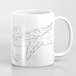 Fishing the Little Missouri Coffee Mug