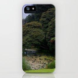 Heligan Gardens 3/4 iPhone Case