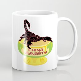 China Dynasty Scorpion Bowl Coffee Mug