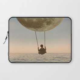 DREAM BIG/MOON CHILD SWING Laptop Sleeve