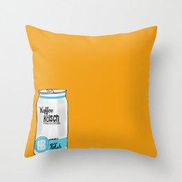 koffee kolsh Throw Pillow