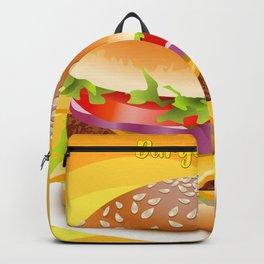 Burguer Fan Backpack