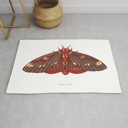 Regal Moth Rug