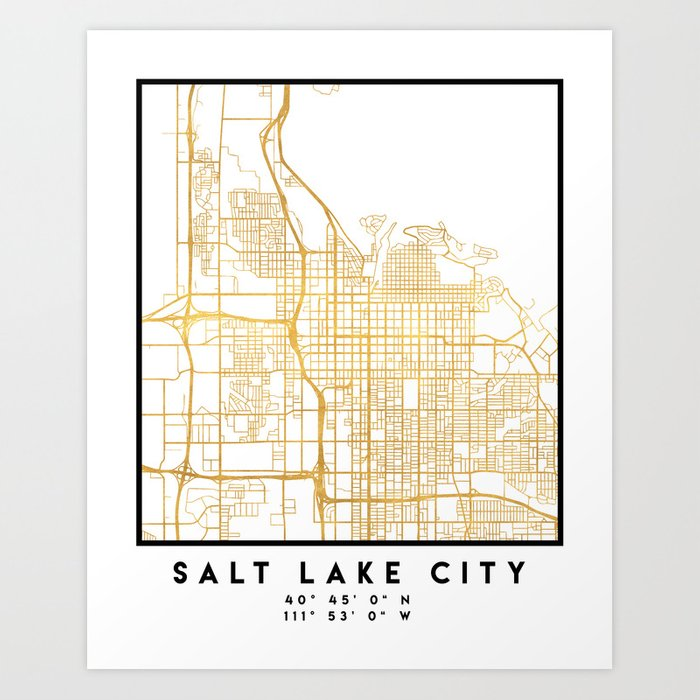 SALT LAKE CITY UTAH CITY STREET MAP ART Art Print by deificusart Salt Lake City Utah Map on lisbon utah map, millcreek canyon utah map, oregon trail map, university of utah map, santa fe new mexico map, utah county map, taylorsville utah map, denver colorado map, salt lake valley map, cecret lake utah map, heber utah map, clearfield utah map, snowbird utah map, san francisco california map, logan utah map, geneva utah map, ashley valley utah map, south jordan utah map, utah state map, hd utah map,