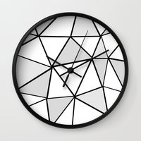 origami Wall Clocks featuring origami by themicromentalist