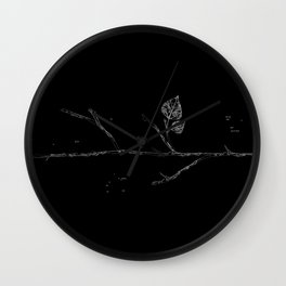 Fall...ing in silence v.2 Wall Clock