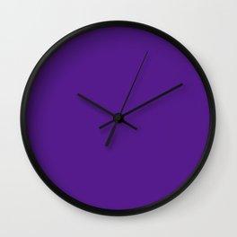 American Violet Wall Clock