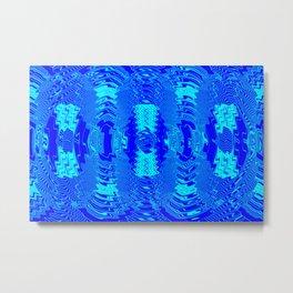 Wetlight pattern Metal Print