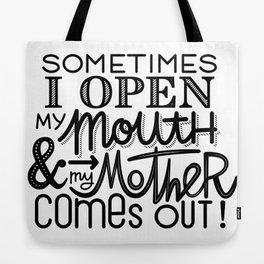Mom Junior Tote Bag