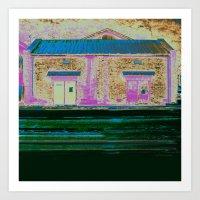 Industrial waste * warehouse Art Print