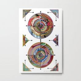 Booktarget 01 Metal Print