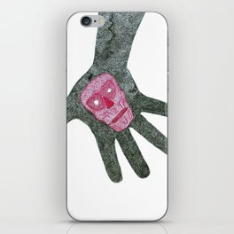 death hand iPhone Skin