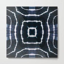 CASTLE OF GLASS - INDIGO Metal Print