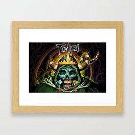 the linch Framed Art Print