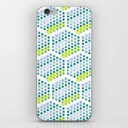 Cool Crystals Pattern iPhone Skin