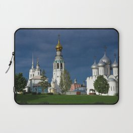 Landscape with the Ancient Saint Sophia Cathedral and Vologda Kremlin in the Russian North Laptop Sleeve
