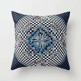 Hyper-Square Throw Pillow