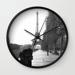 Paris Amour Wall Clock