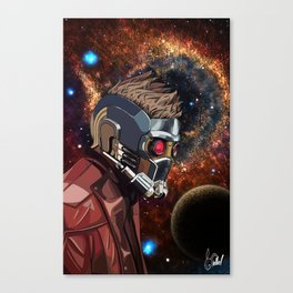 Portrait of Peter Quill (Star-Lord) Canvas Print