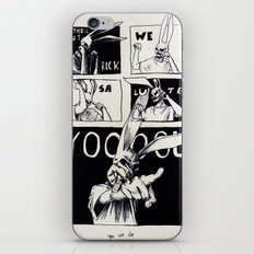 for those about to rock iPhone & iPod Skin