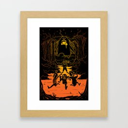 Ruuuun!! Framed Art Print