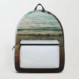 Vivid Morning Waves Backpack
